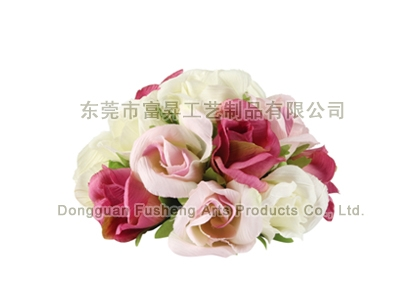 【F1304/15】Rose Half Size BaArtificial Flowers