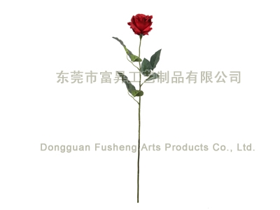 【FS3660/1】Rose Single Stem Artificial Flowers