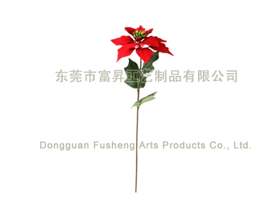 【F5239/1】Poinsettia x 1Artificial Flowers