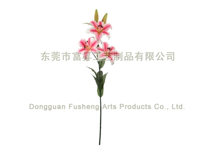 【FS3668/5】Tiger Lily x 5Artificial Flowers