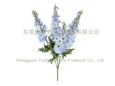 【F5432/6】Delphinium Bush x Artificial Flowers
